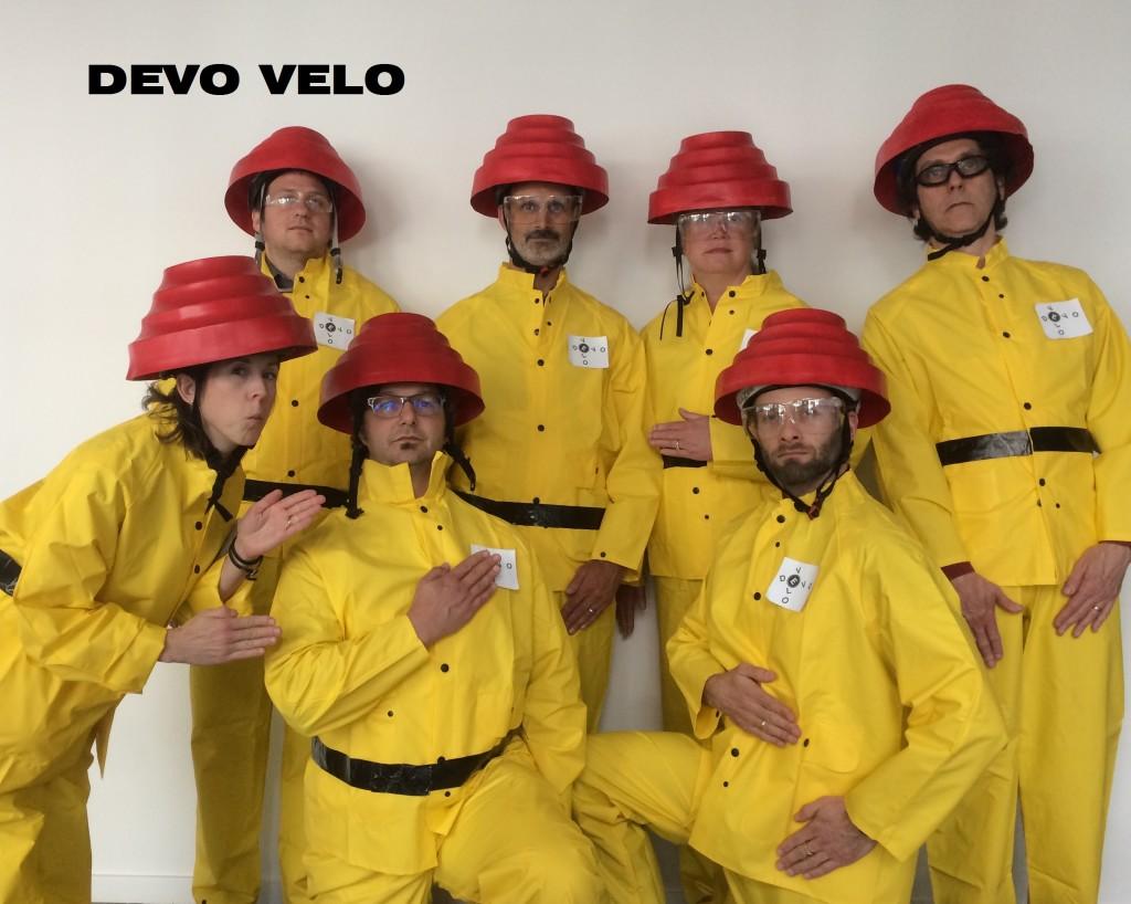 Weber Thompson's Bike to Work Month team Devo Velo.
