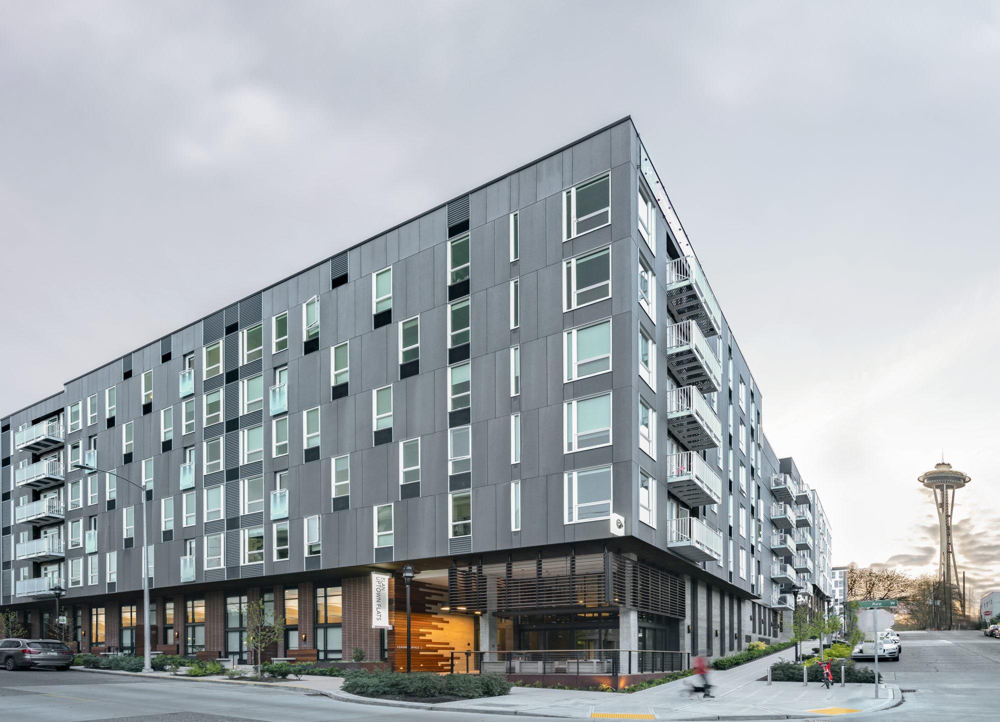 Elan Uptown Flats Architecture