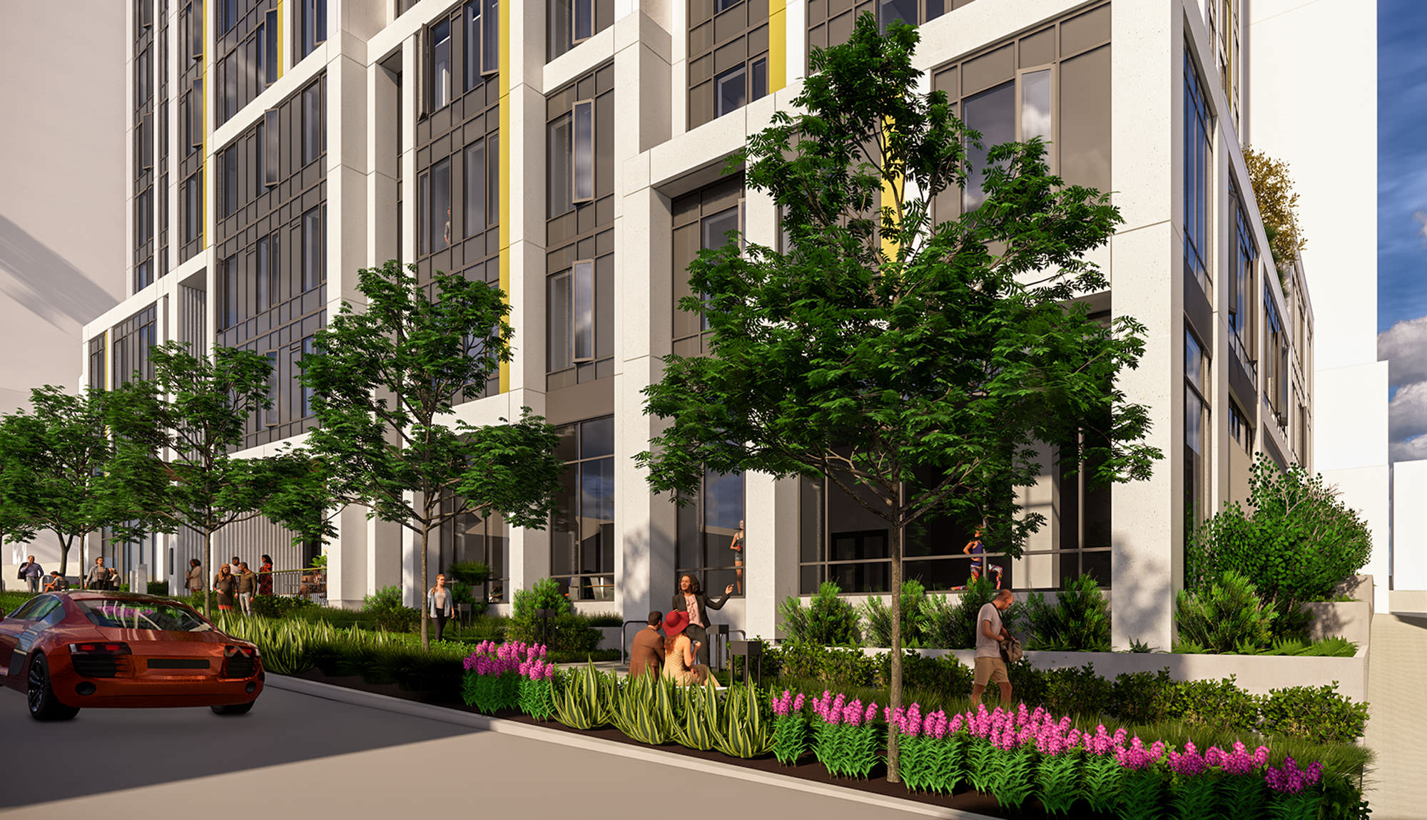 Lakeview Student Apartments Architecture