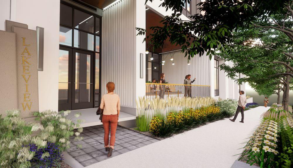 Lakeview Student Apartments Landscape Architecture