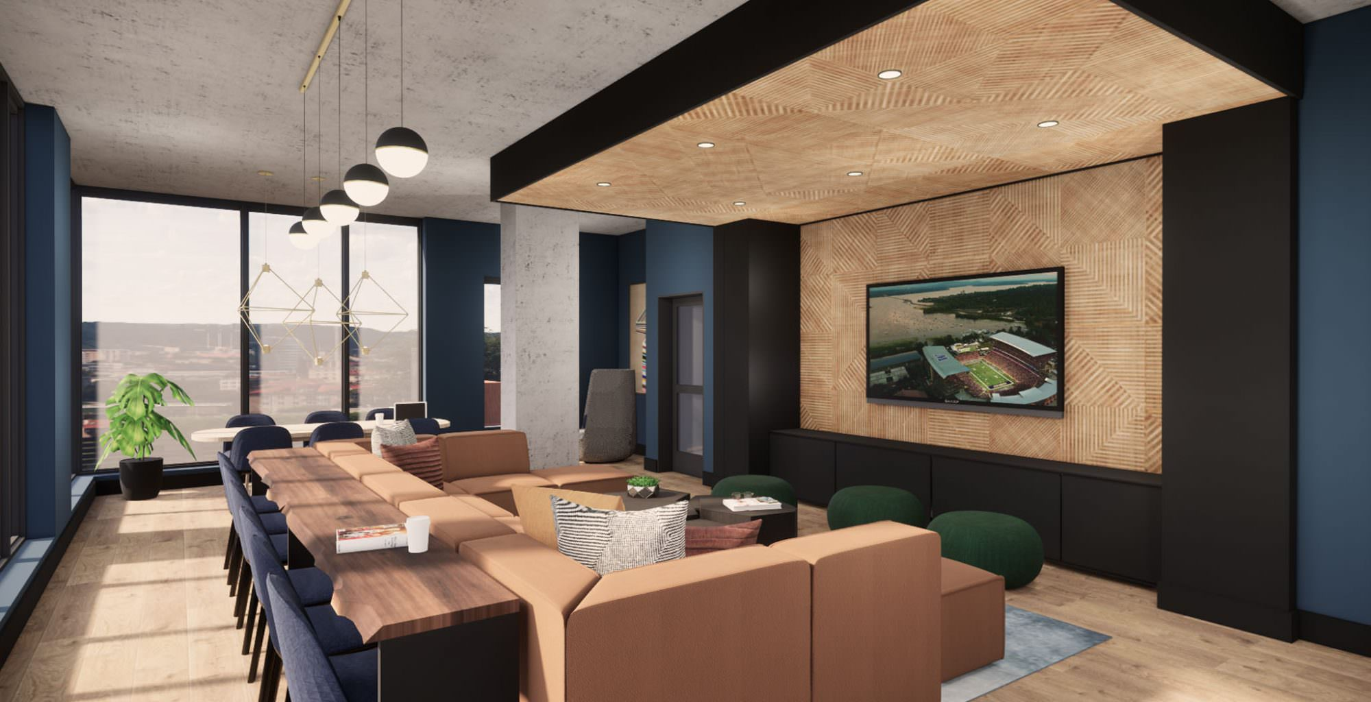 Lakeview Student Housing Interior Design
