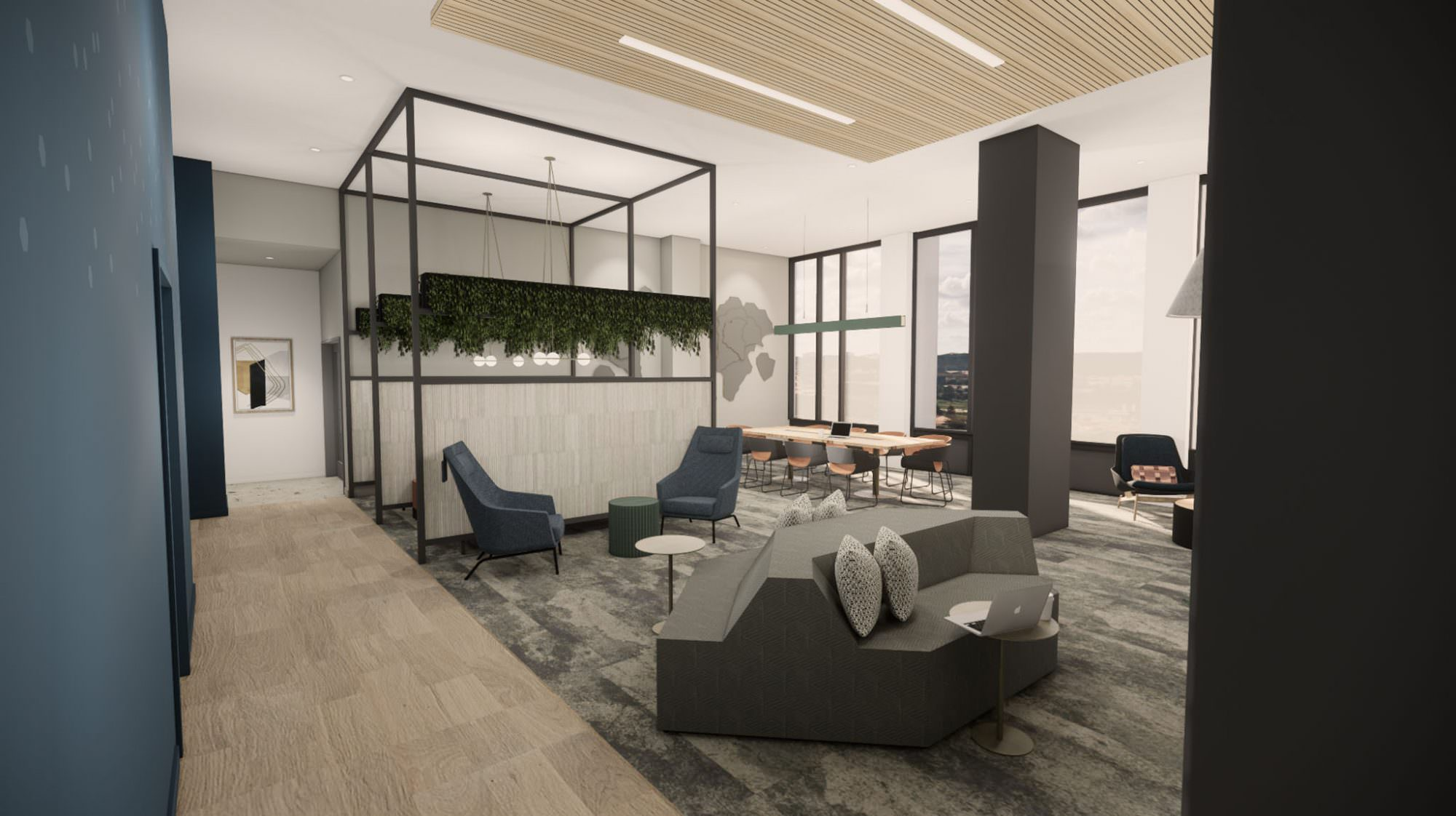 Lakeview Student Apartments Interior Design