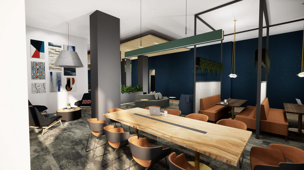Lakeview Student Housing Tower Interior Design