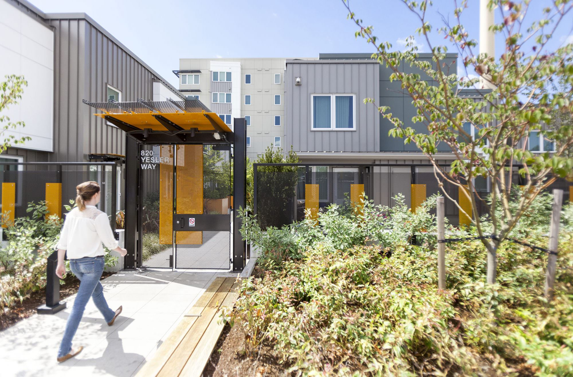 Raven Terrace at Yesler Terrace Architecture