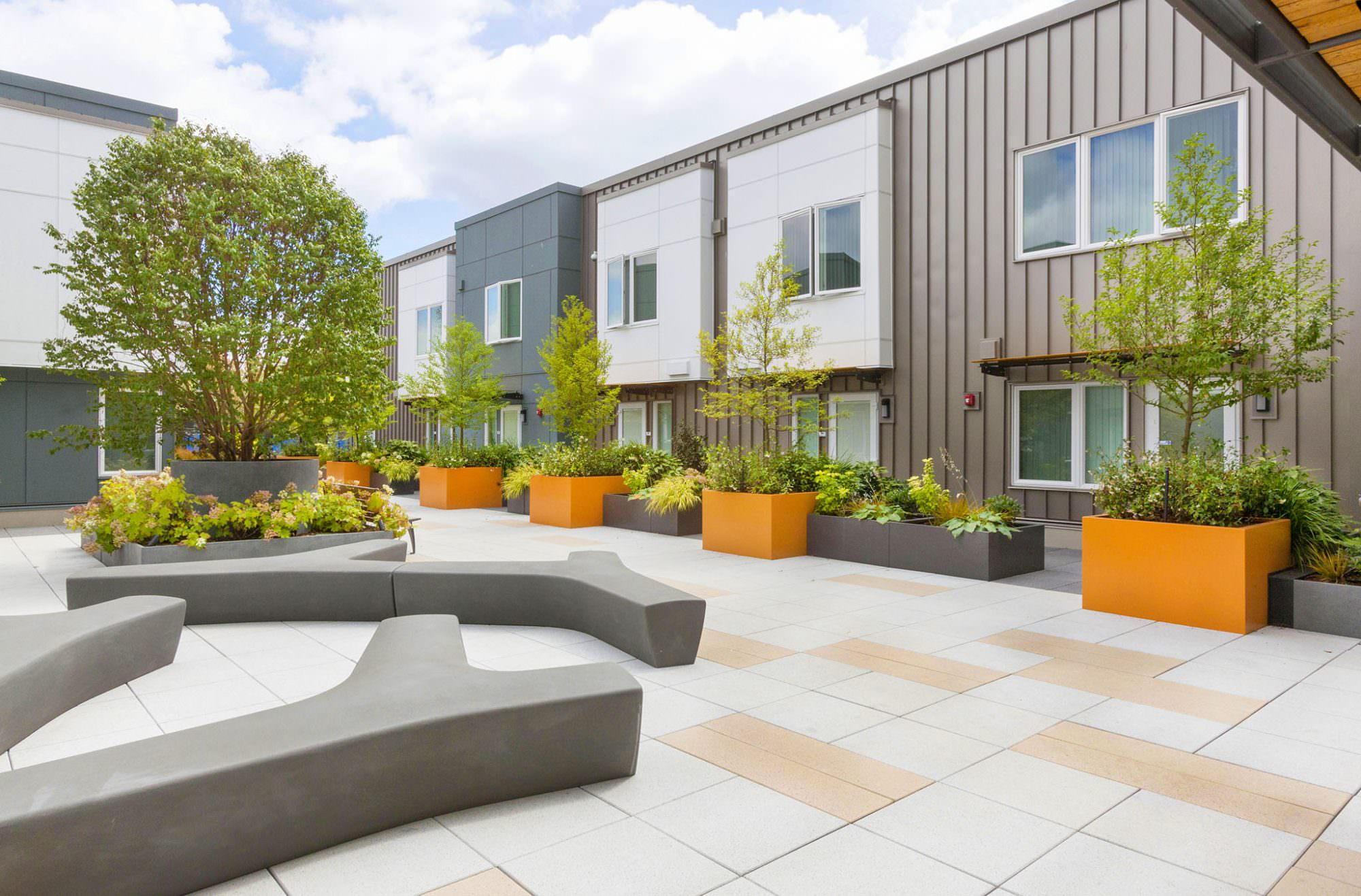 Raven Terrace at Yesler Terrace Landscape Architecture