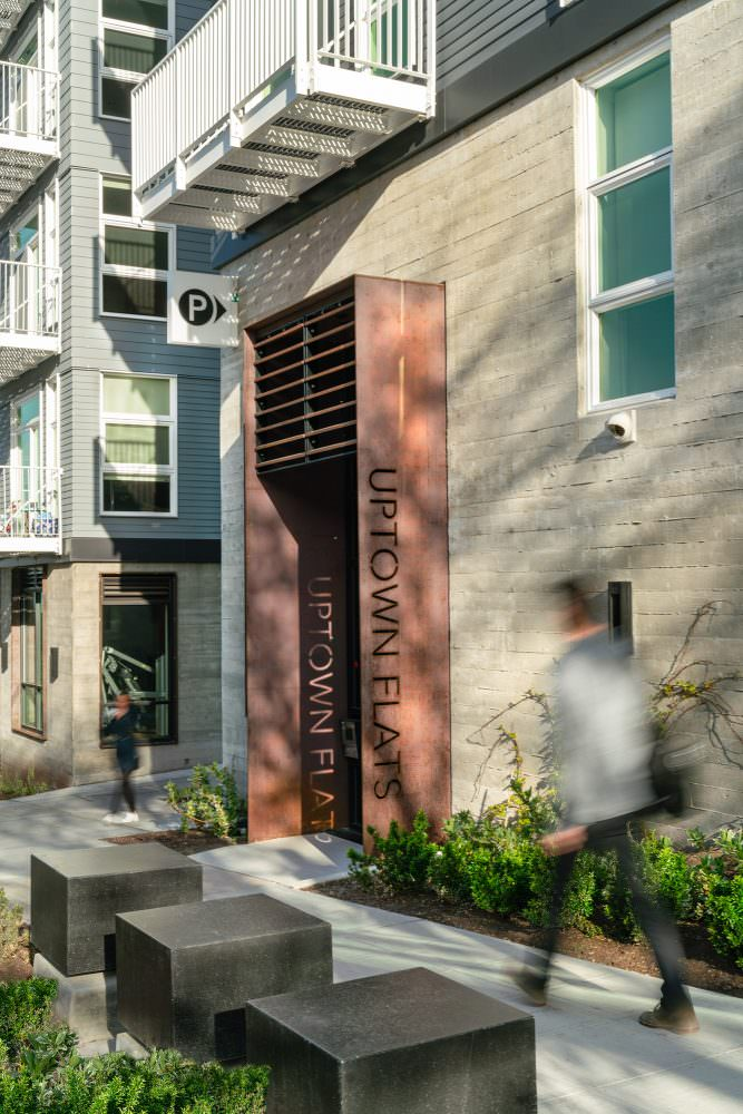 Elan Uptown Flats Landscape Architecture