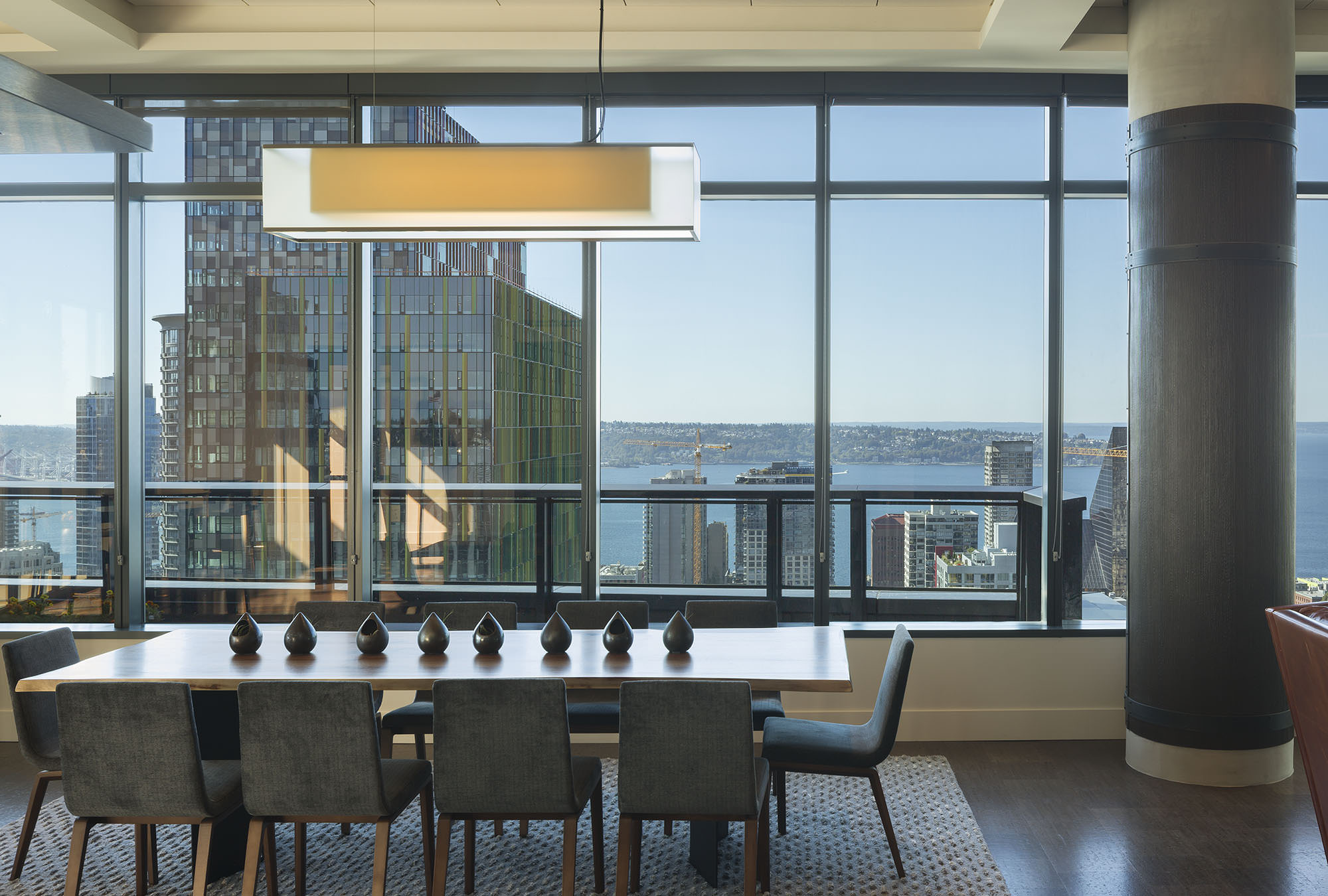 Cirrus residential tower rooftop amenity