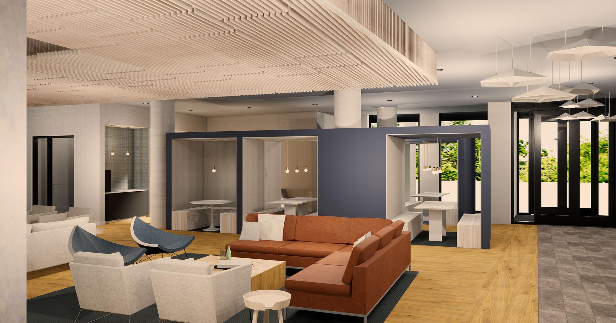 Trailside Student Housing Interior Design