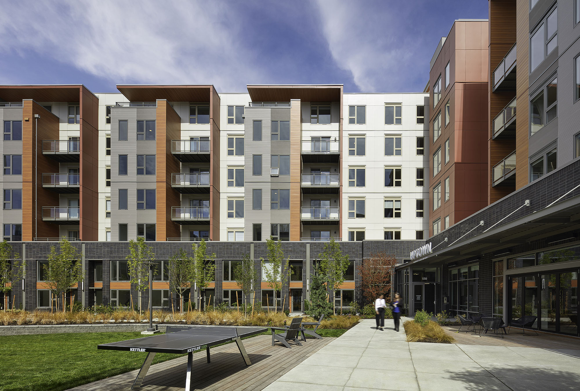 Uptown Apartments at Kirkland Urban Architecture
