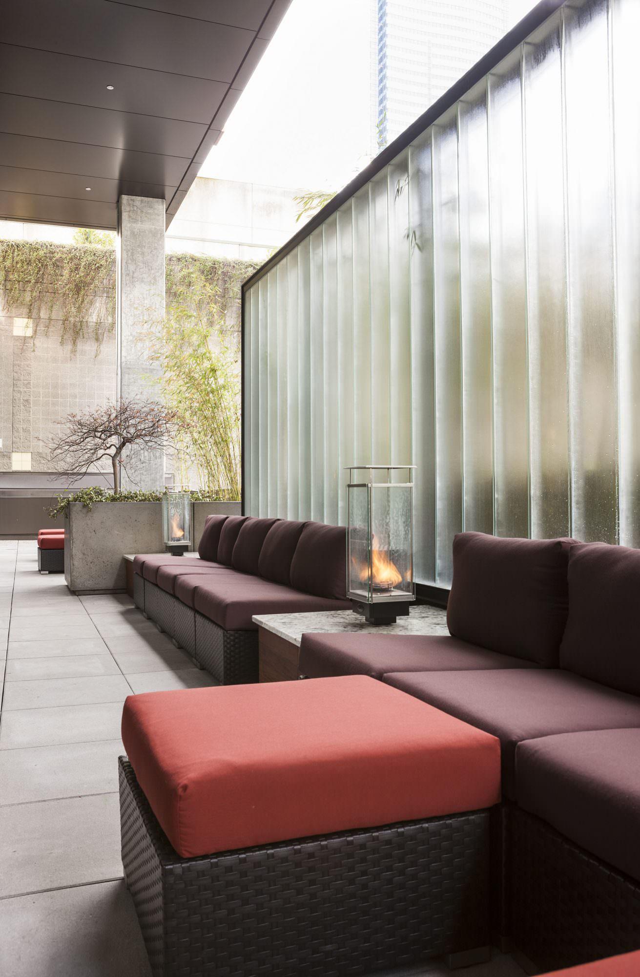Premiere on Pine landscape architecture