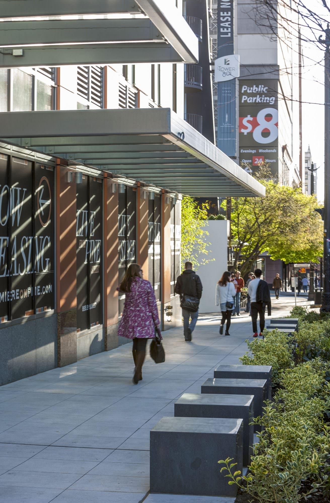 Premiere on Pine Architecture