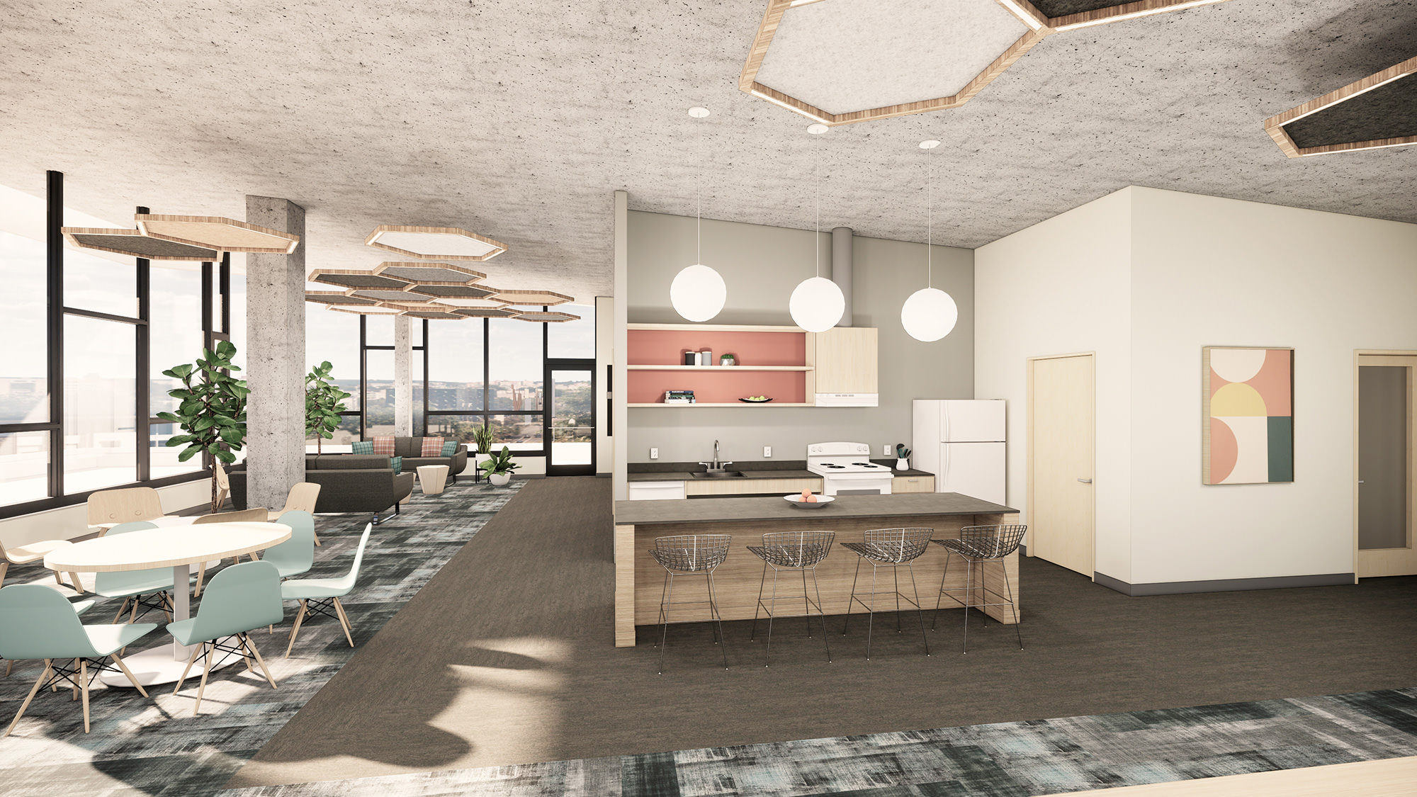 Bellwether Housing Kitchen