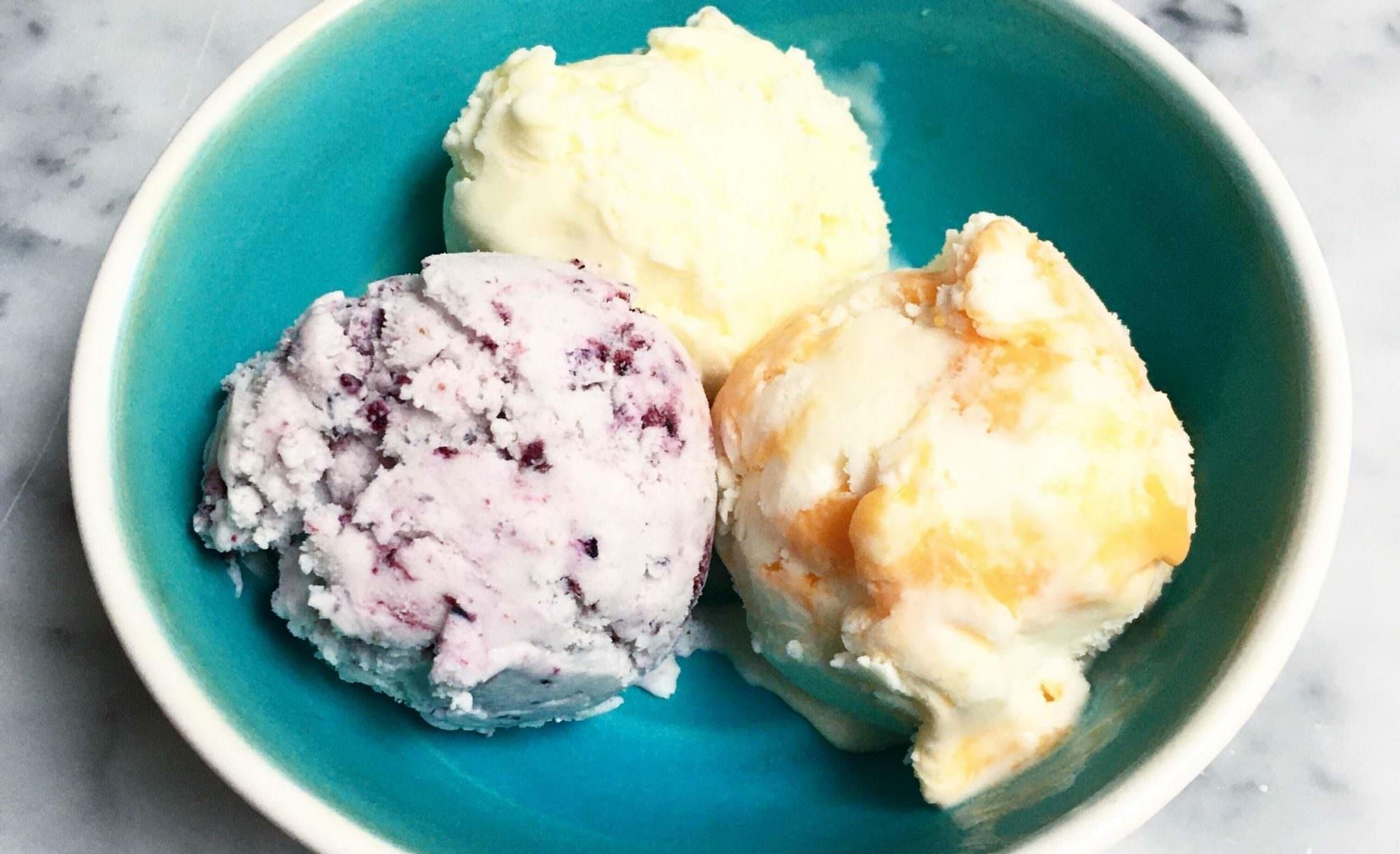 Food Frenzy ice cream sale photo