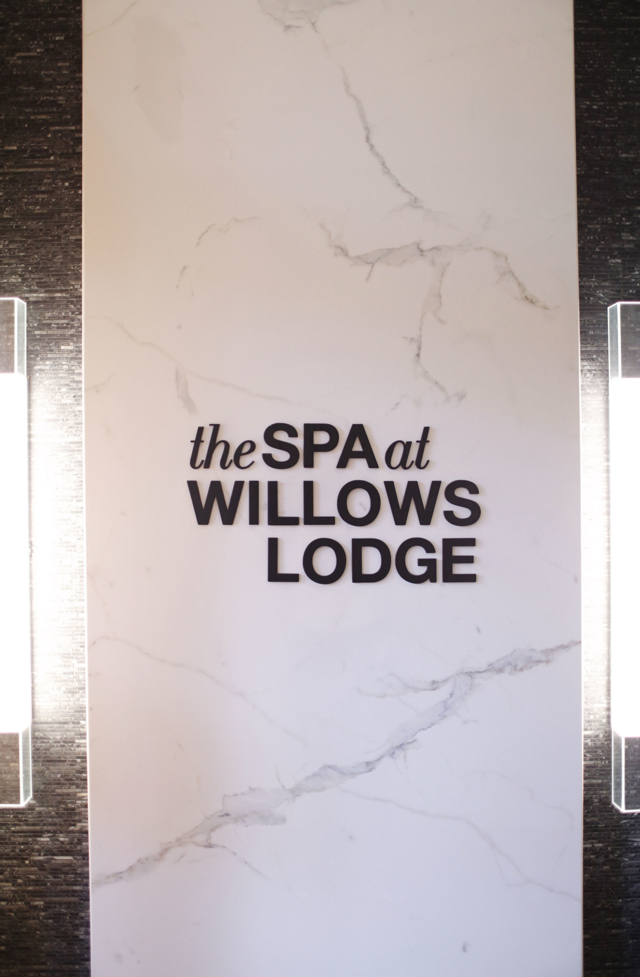 The Spa at Willows Lodge Interior Design