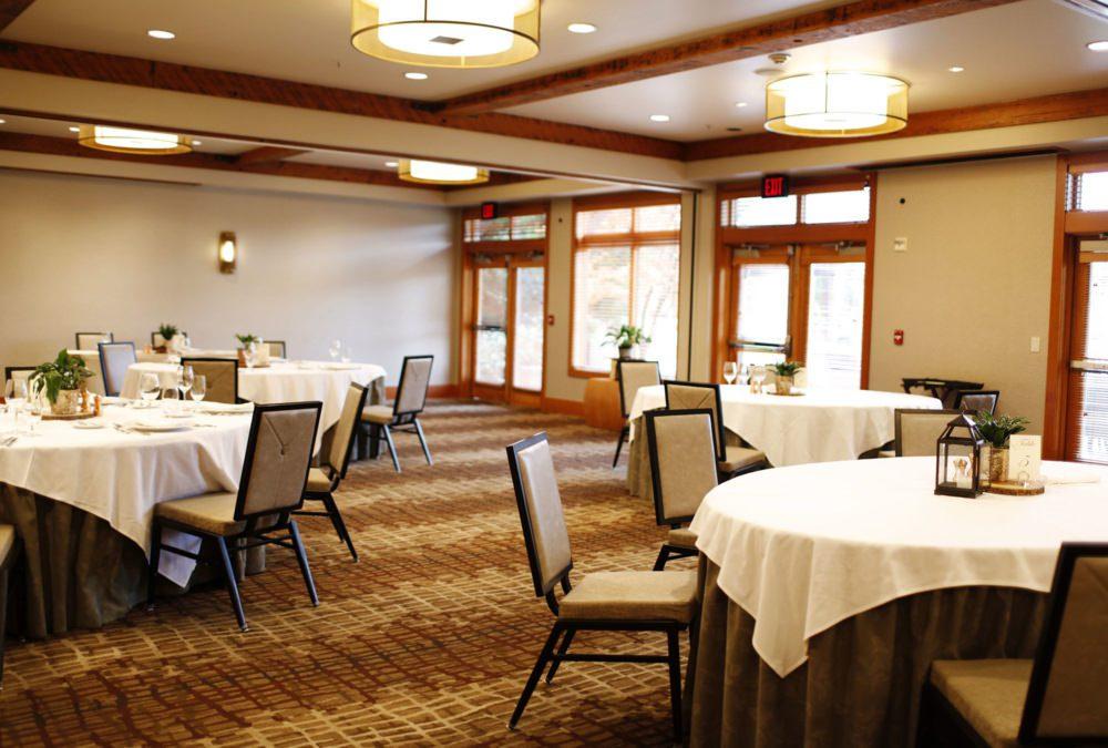 Willows Lodge Interior Design Ballroom