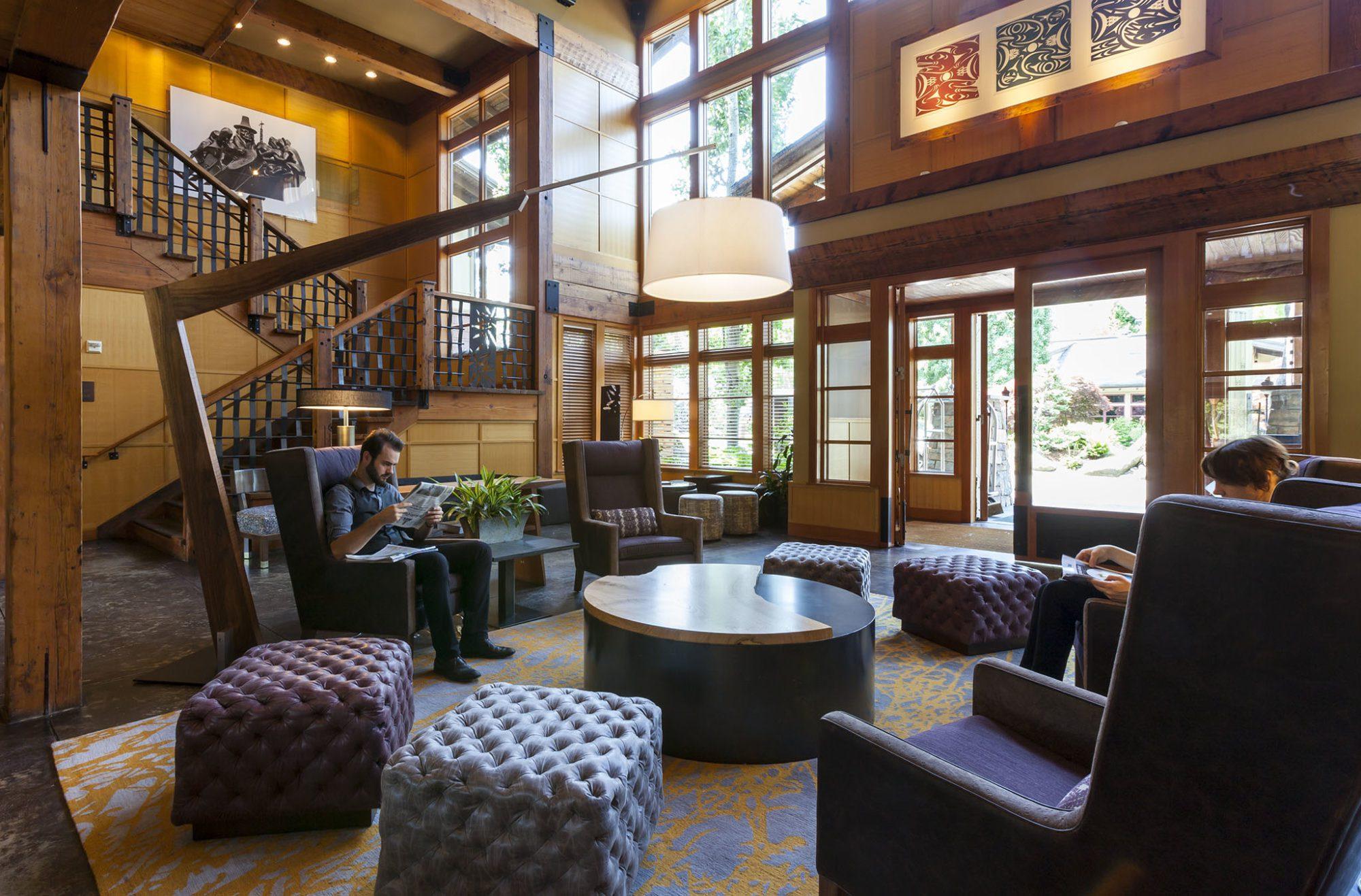 Willows Lodge Interior Design
