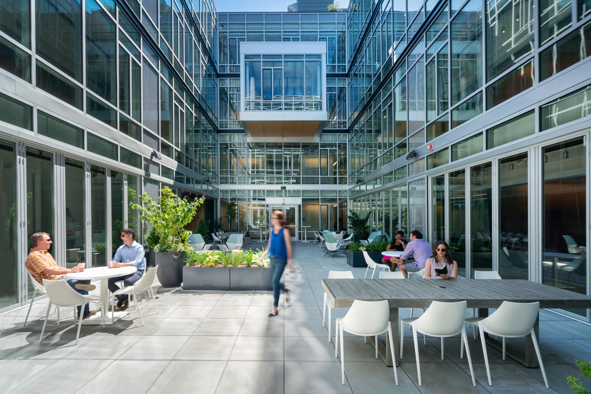 Data 1 Courtyard at day