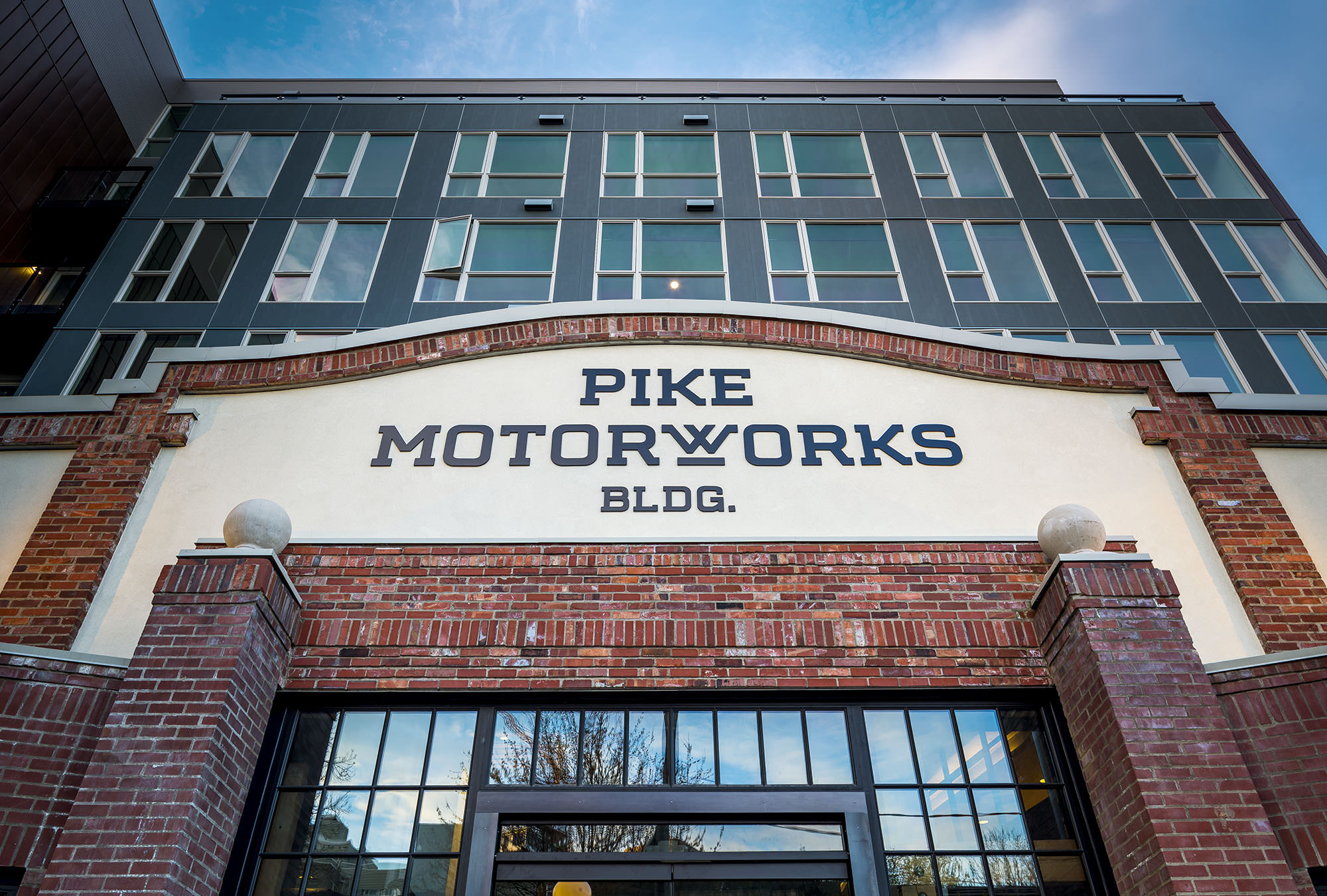 Pike Motorworks Architecture