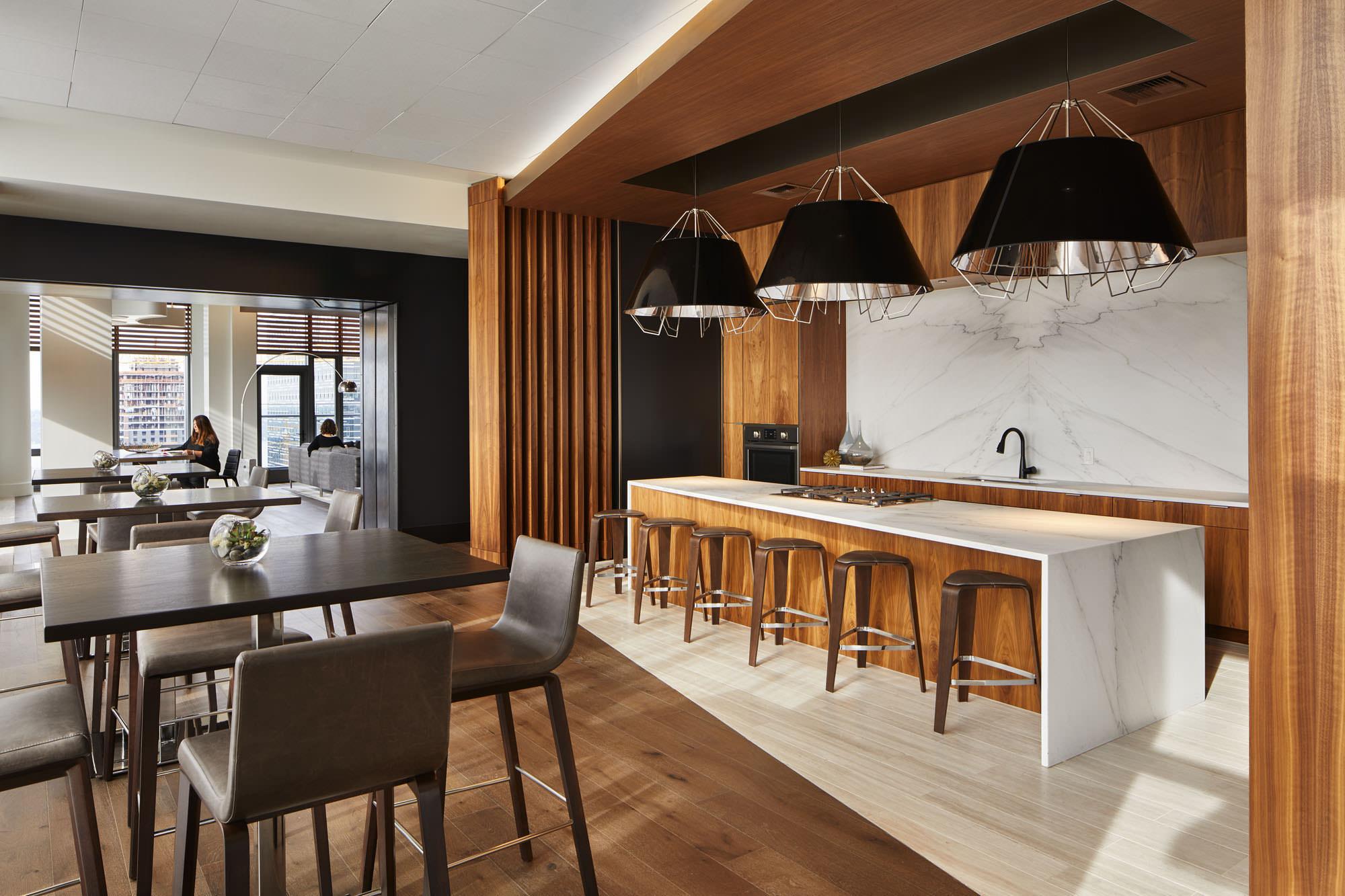 Showcase kitchen at Stratus