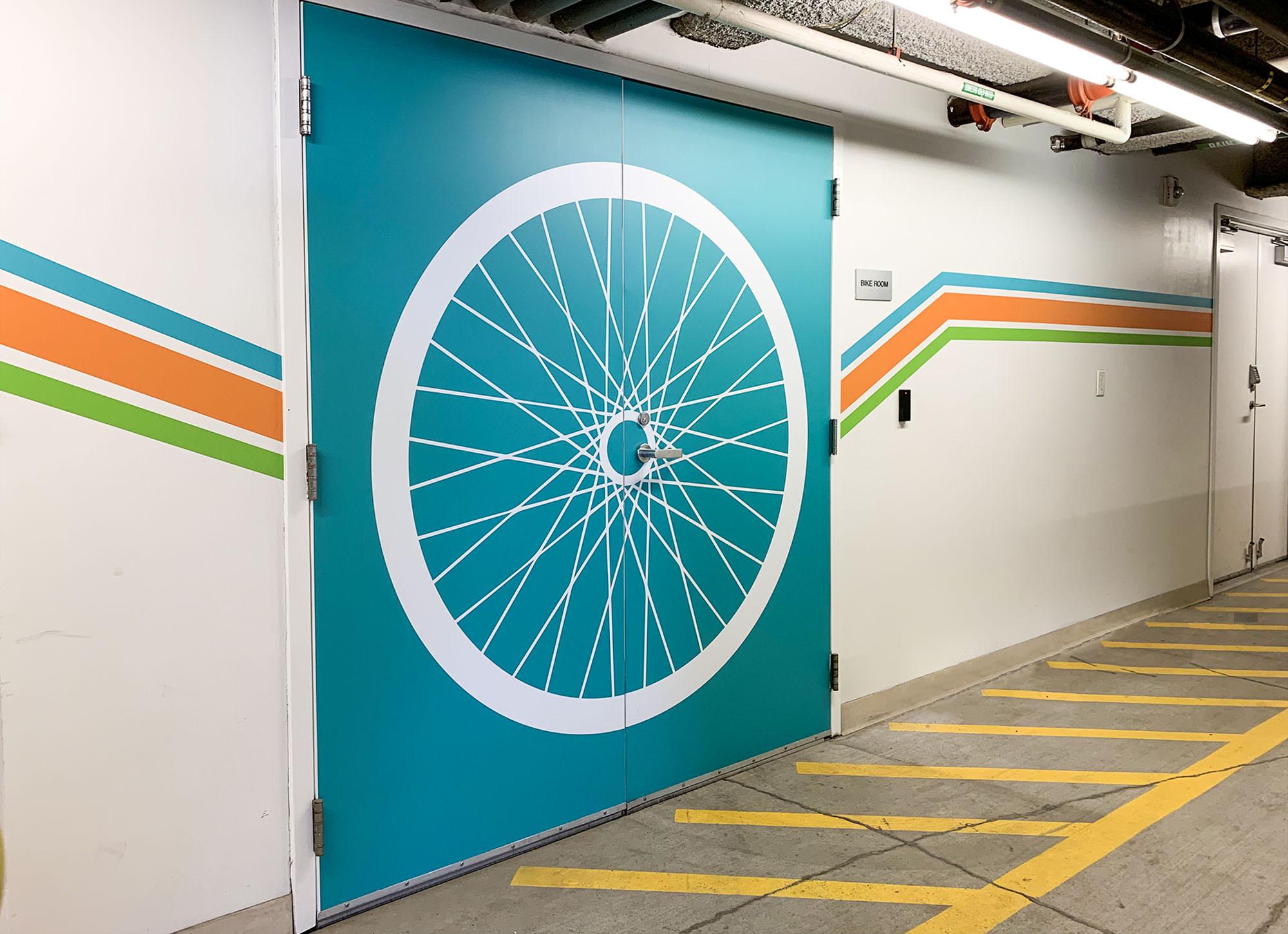 Terry Thomas bike room